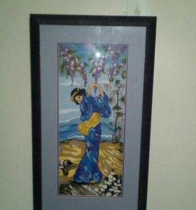 Картина крестиком