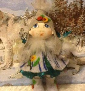 кукла (девочка зима)
