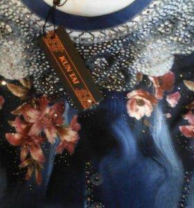 Платье 52.-54 новое очень красивое с блёстками