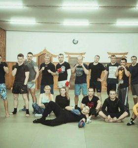 Тренировки по боксу клуб Беркут-69