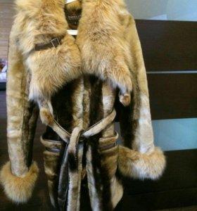 Шуба мутон. 46-48