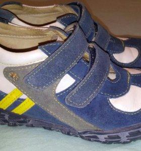 Ботинки кожаные Тотто