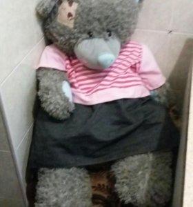"""Мягкая игрушка""""Тедди""""(девочка) .Новая"""