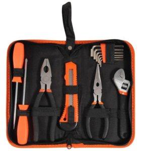 Набор инструментов малый Эконом 12 предметов