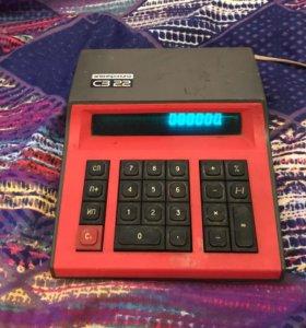 Калькулятор электроника СЗ-22