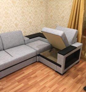 В рассрочку!Новый угловой диван