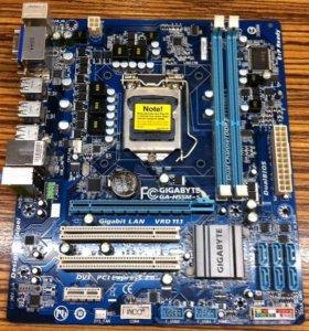 1156 GigaByte GA-H55M-S2 плата материнская