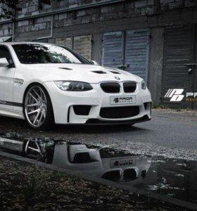 Бампер prior design BMW e92 рестайлинг