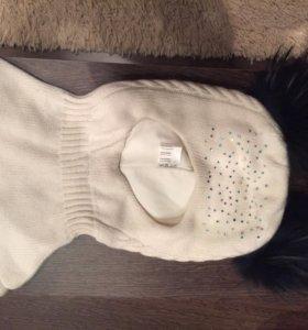 Детская Шапка зимняя (шлем)