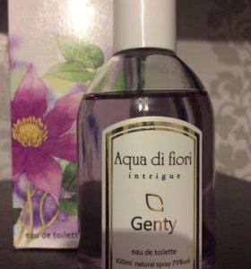 Парфюмерная вода Aqua di Fiori intrigue.