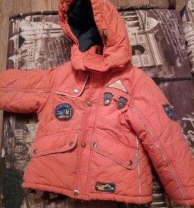 Отдам куртку 86-92