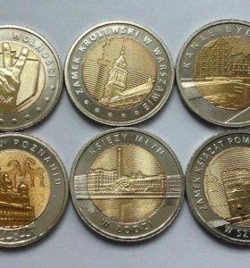 Познай Польшу 6 монет UN