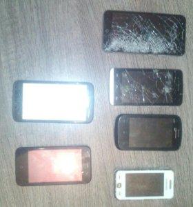 Телефоны два рабочих