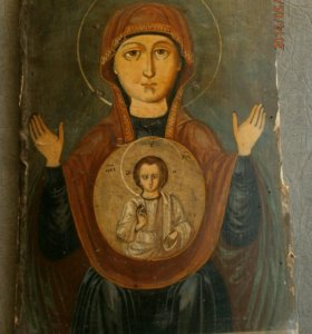 Икона Божией Матери, именуемая Знамение
