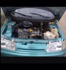 Двигатель коробка и навесное