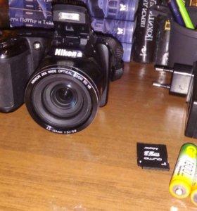 Фотоаппарат 20мп 26х подарок