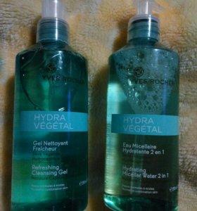 Гель для умывания и мицелярная вода