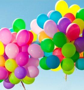 Воздушные шарики. композиции из шаров