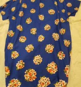 Прямое платье р.58-60