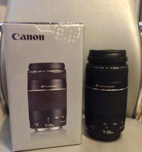 Объектив Canon 75-300 III USM на гарантии