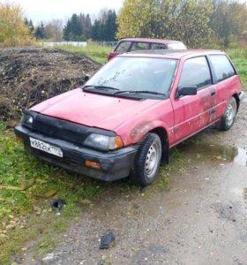 Хонда цивик 1986 МКПП