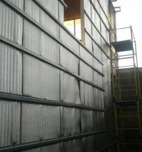 Монтаж зданий с ЛСТК профиля