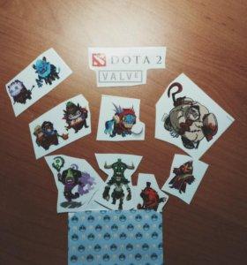 Стикеры Dota2
