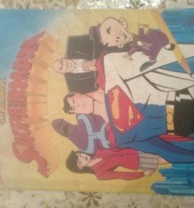 Как рисовать супермена