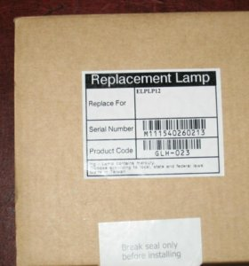 Лампа от проектора Epson elplp12 V13H010L12 модуль