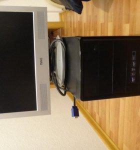 Игровой системник I3+ моник в подарок
