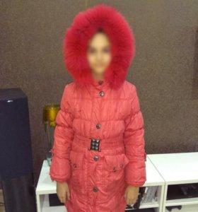 Куртка зимняя, р.128-134