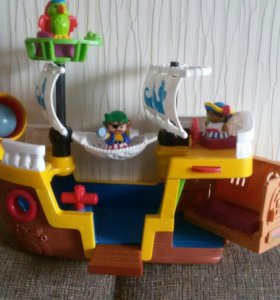 Корабль со звуками
