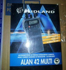 Радиостанция Alan 42 multi