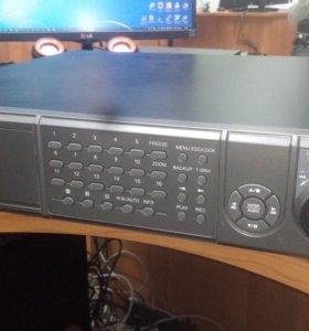 16 канальный видеорегистратор DVR168A