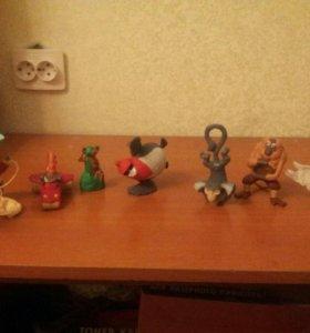 Игрушки из мультиков