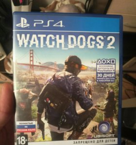 PS4/пс4 Watch Dogs 2