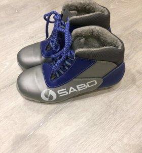 Ботинки лыжные р. 35