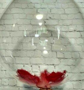 Идеально прозрачный воздушный шар