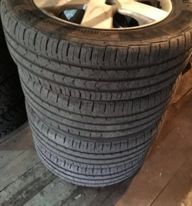 Комплект колёс 4/100/15 на литых дисках.