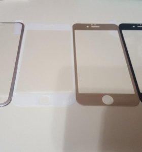 Защитные 3D стёкла для iPhone, Samsung
