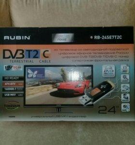 Телевизор Rubin rb-24se7t2c