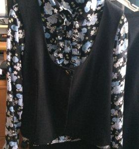 Костюм с блузкой