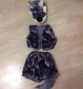 костюм волка для детей 2-5 лет