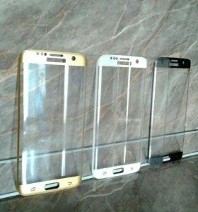3D Samsung S7 edge стекло-бронь