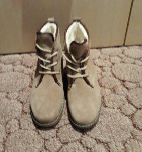 Новые зимние ботинки Francesco Donni