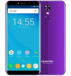 Новый сматрфон Oukitel C8 5.5 16Gb