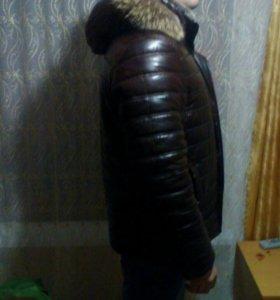 Куртка мужская, кожзам