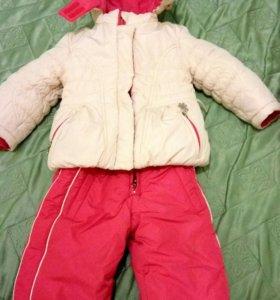 Детский комбез зимний