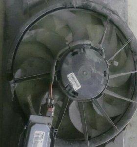 Форд фокус 3 вентилятор радиатора.