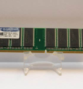 Silicon Power 1GB RAM PC-3200 CL3 DDR-400 SP001GBL